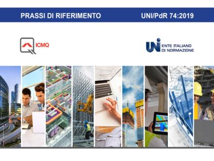 La certificazione BIM dell'azienda secondo la PDR UNI 74/19